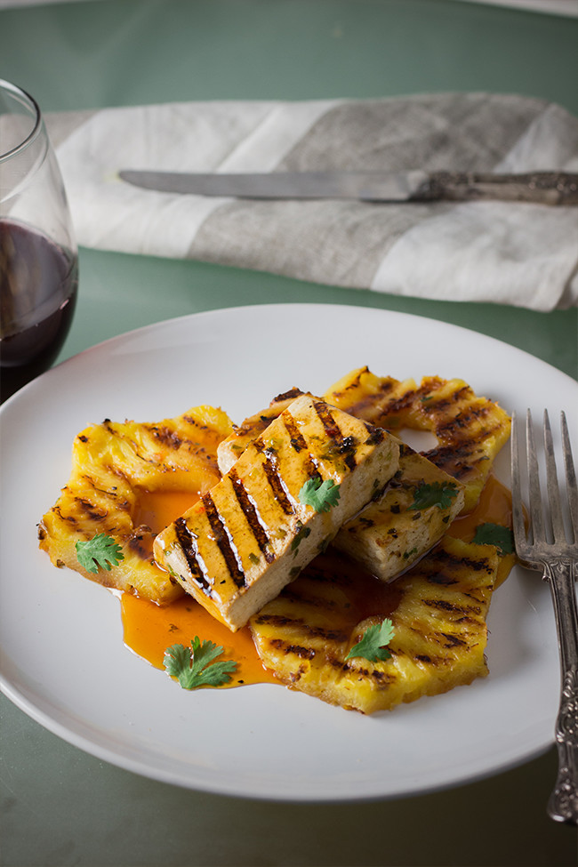 Jamaican jerk tofu and pineapples cooking maniac the addition of the jamaican jerk marinade takes this tofu recipe to another level clean forumfinder Choice Image