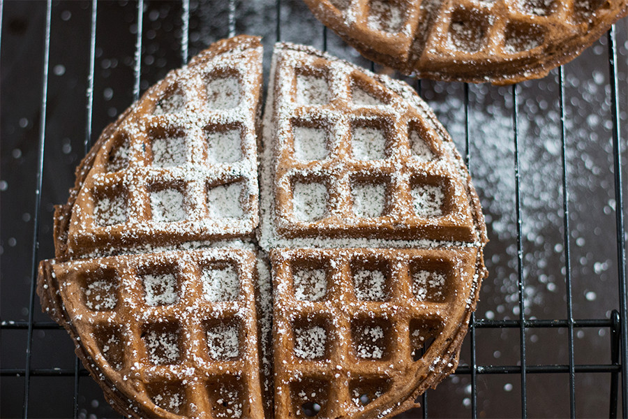 "Nothing says ""hello weekend"" like a Buttermilk waffle."