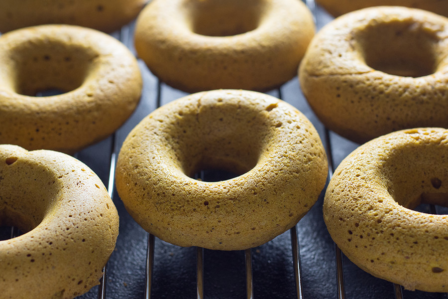 Thankfully, these baked vegan coconut pumpkin donuts allows a little sweet indulgence without the guilt.