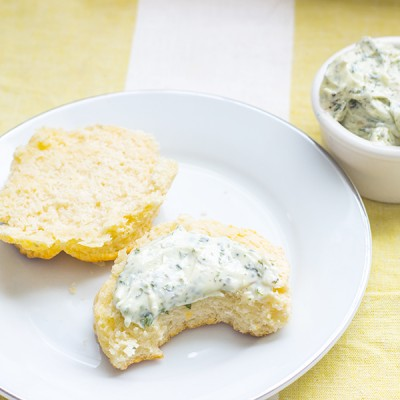 Homemade Whipped Herb butter