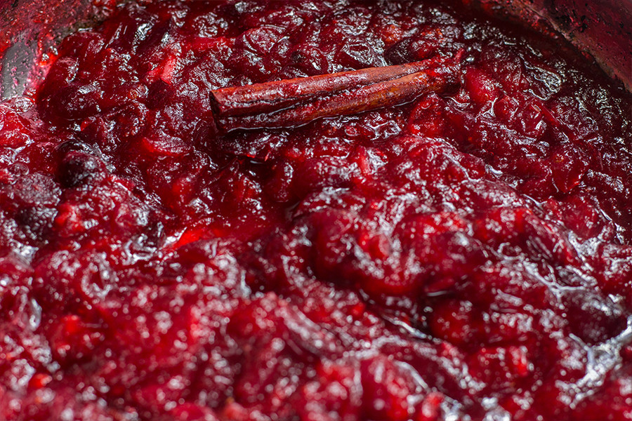 Not only is this ginger cranberry sauce sweet, spicy and tangy, it is also very warming. The perfect relish to enjoy with any holiday dish.
