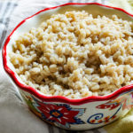 Pearl barley one of the oldest grains. It is chewy, nutty and hearty. Pearl barley is full of fiber and tons nutrients. Most importantly it is filling and easy to make.