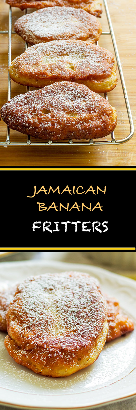 Jamaican Banana Fritters Cooking Maniac