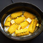 This slow-cooker corn on the cob recipe is so easy.Braising the corn in coconut milk ensures that the corn is crisp, juicy and retains its corn flavor.