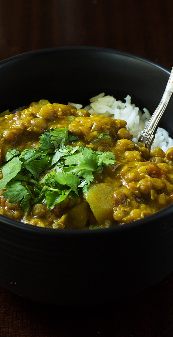 Crock Pot Lentil Curry Cooking Maniac