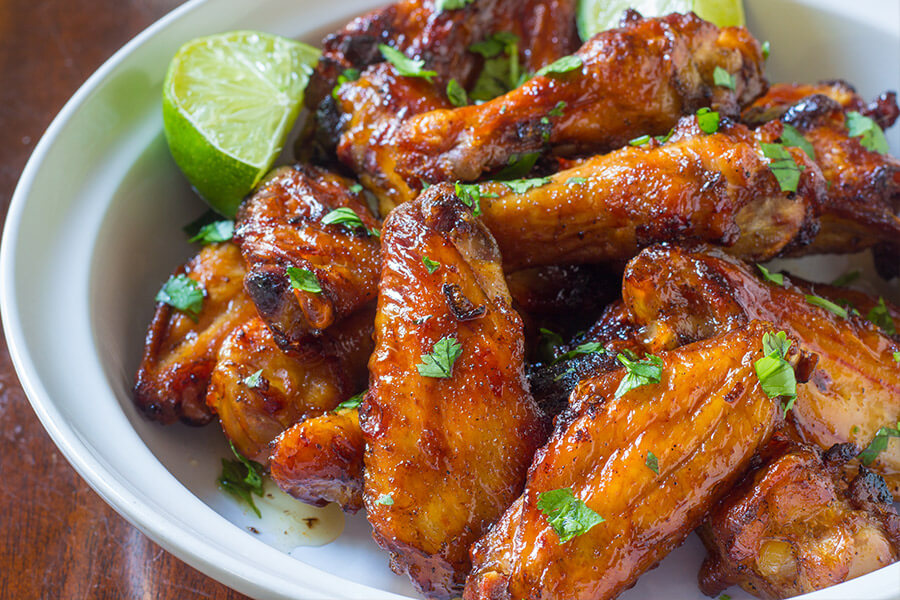 Cilantro lime chicken wings are full of flavor, a healthier option and super easy clean up. You will love this recipe: it's fast, easy, and flavorful