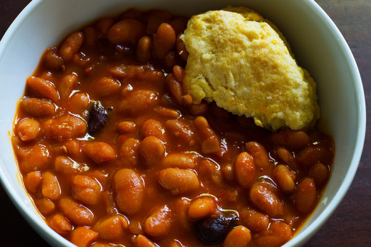 Slow Cooker Baked Bean