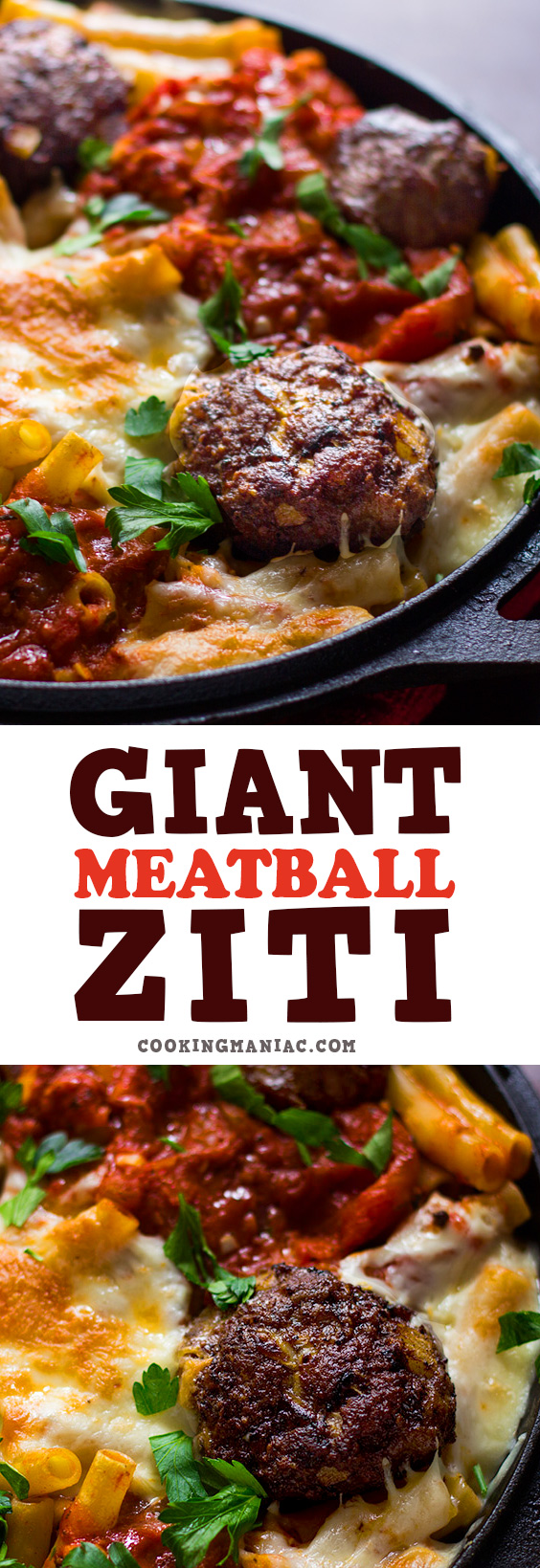 This is the best Giant Meatball Ziti out there.