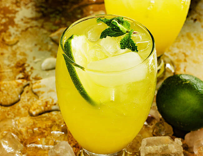 Pineapple Ginger 7up Punch