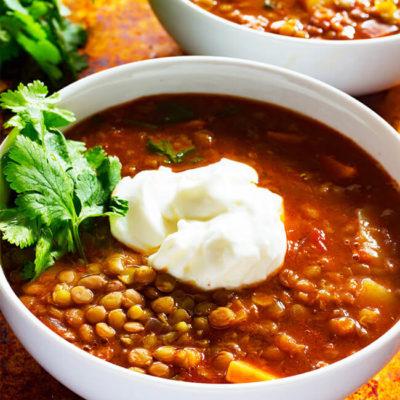 Lentil and Chicken Stew