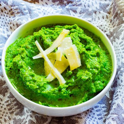 Super Green Pea Puree