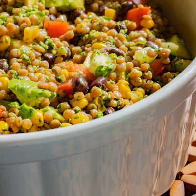 Southwest Whole Wheat Couscous Salad