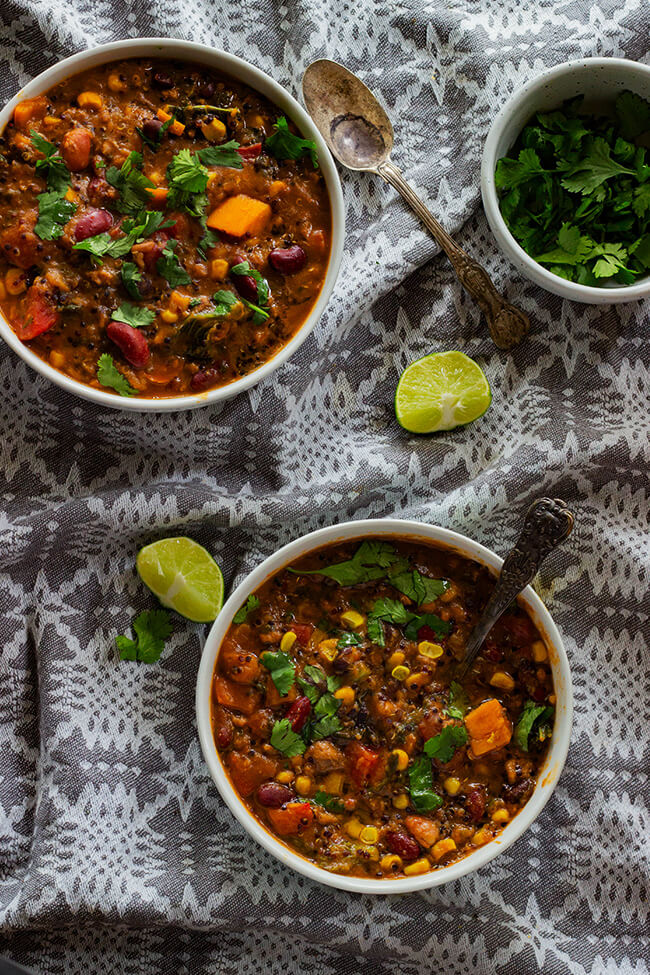 This jerk Turkey Chili recipe is the perfect weeknight dinner. It has the right amount of spice to add some excite everyone. make it today.