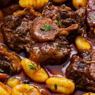 Oxtail Gnocchi Stew