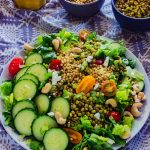 Summer Harvest Sorghum Salad
