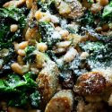 Sausage Kale and White bean stew