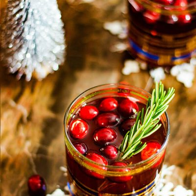 Cranberry Rosemary Crush