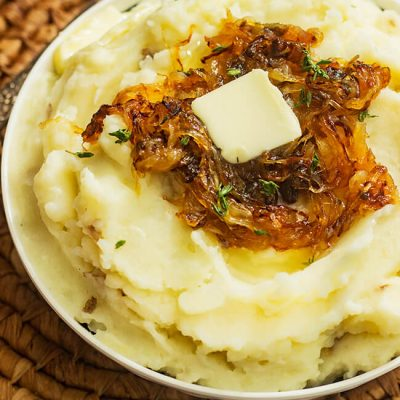 Extra Creamy Butter Mashed Potatoes