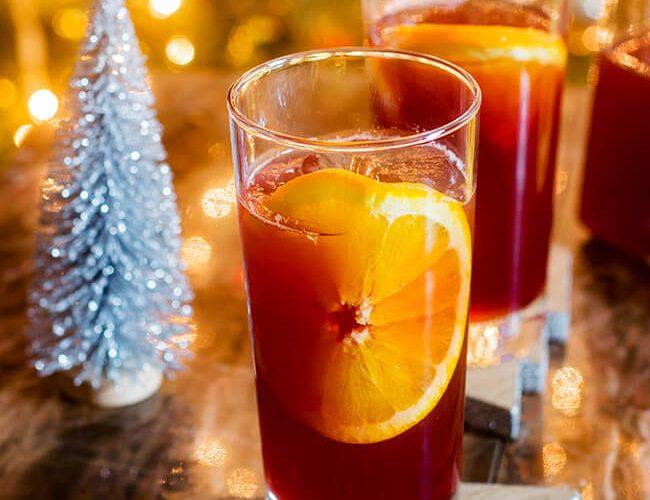Orange Pomegranate Punch