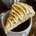 Maple Brown Butter Glazed Scones