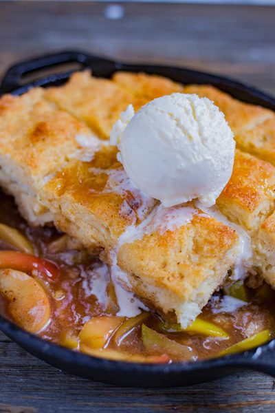 Easy Apple Cobbler Buttermilk Biscuit