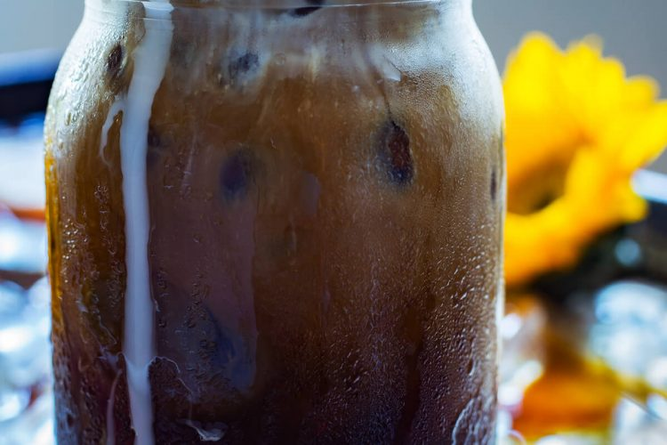 Perfect Coconut Iced Coffee + Coffee Iced Cubes